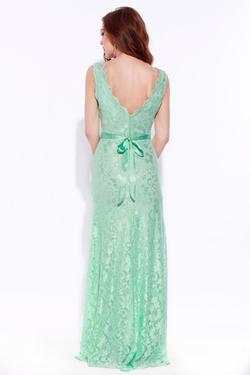 Style I1689185 Jolene Green Size 8 Tall Height Straight Dress on Queenly