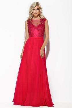 Style 15067 Jolene Pink Size 16 Pageant Tall Height A-line Dress on Queenly