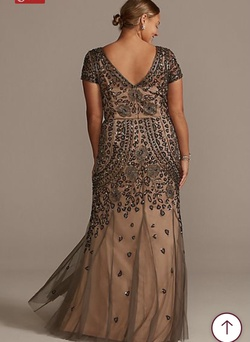 Nude Size 16 Straight Dress on Queenly