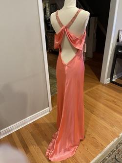 Orange Size 10 Straight Dress on Queenly
