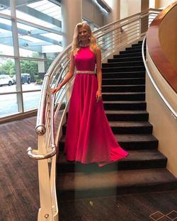 Ashley Lauren Pink Size 2 Ball gown on Queenly