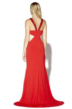 Style 16056 Jolene Red Size 6 Tall Height Mermaid Dress on Queenly