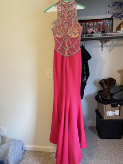Tony Bowls Pink Size 4 Train Mermaid Dress on Queenly