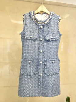 Blue Size 4 Cocktail Dress on Queenly