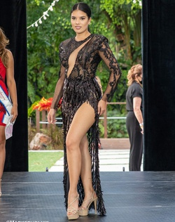 Fernando Wong Black Size 4 Prom Pageant Showstopper Straight Dress on Queenly