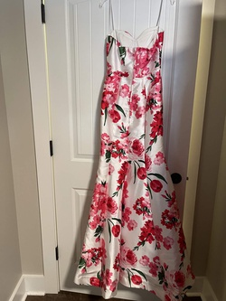 B Smart Multicolor Size 0 Floral Mermaid Dress on Queenly