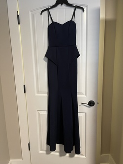 Speechless Blue Size 0 Sorority Formal Wedding Guest Straight Dress on Queenly