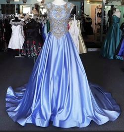 Mac Duggal Purple Size 4 Pageant Showstopper Ball gown on Queenly