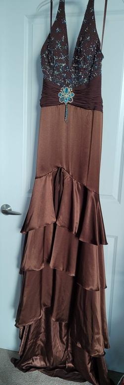 Rachel Allan Multicolor Size 8 Rachel Allen Mermaid Dress on Queenly