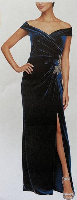 Purple Size 18 Side slit Dress on Queenly
