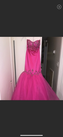 Sherri Hill Pink Size 0 Prom Pageant Mermaid Dress on Queenly