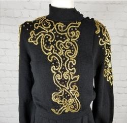 Antonella Preve Black Size 4 Jumpsuit Dress on Queenly