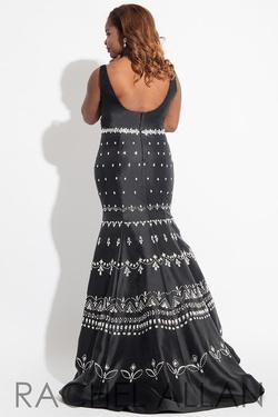 Style 7811 Rachel Allan Black Size 18 Plus Size Prom Wedding Guest Mermaid Dress on Queenly