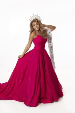 Jovani Pink Size 2 Short Height Ball gown on Queenly