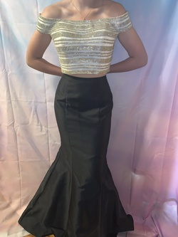 Jasz Couture Multicolor Size 4 Prom Short Height Mermaid Dress on Queenly