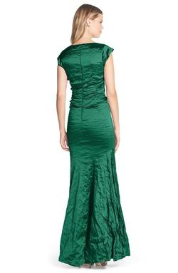 Nicole Miller Blue Size 8 Sorority Formal Pageant Jersey Mermaid Dress on Queenly
