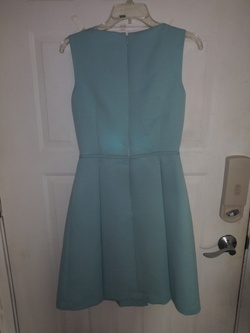 Tahari Blue Size 2 Flare Cocktail Dress on Queenly