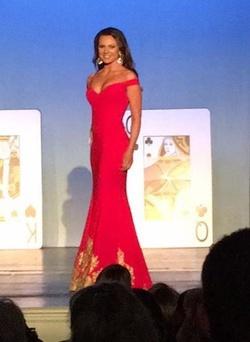 Gregory Ellenburg Red Size 4 Custom Mermaid Dress on Queenly