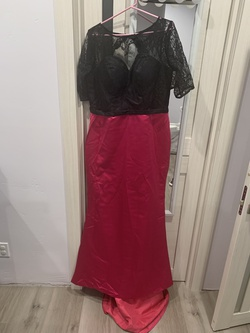 Multicolor Size 18 Mermaid Dress on Queenly