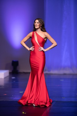 Nicole Bakti Red Size 2 Pageant A-line Dress on Queenly