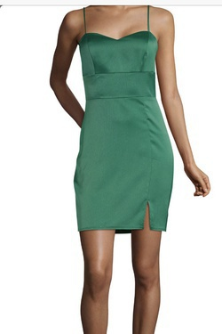 Green Size 16 Cocktail Dress on Queenly