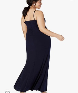Blue Size 24 Straight Dress on Queenly