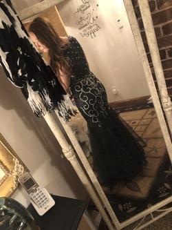 Black Size 2 Mermaid Dress on Queenly