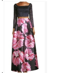 Multicolor Size 0 A-line Dress on Queenly