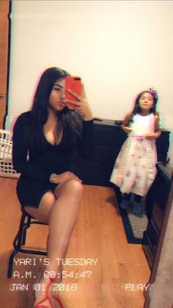 Black Size 6 Side slit Dress on Queenly