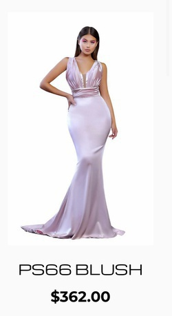 Portia & Scarlett Pink Size 0 Wedding Guest Mermaid Dress on Queenly