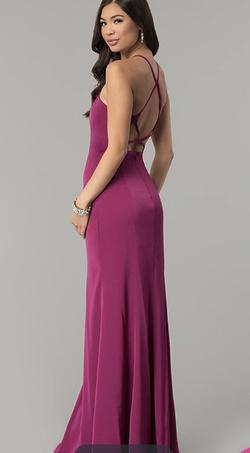 Purple Size 10 Side slit Dress on Queenly