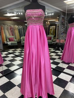 Jovani Pink Size 8 A-line Dress on Queenly
