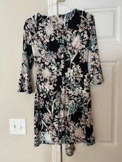 Tommy Hilfiger Black Size 2 Print A-line Dress on Queenly