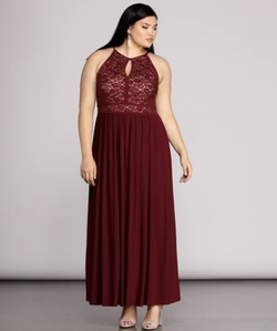 Red Size 22 A-line Dress on Queenly