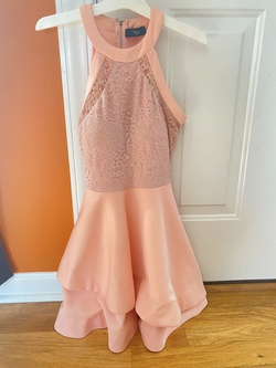 TRAC Pink Size 2 Cocktail Dress on Queenly