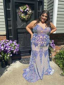 Multicolor Size 20 Mermaid Dress on Queenly