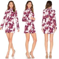 Style Emerge Dress Elliatt White Size 8 Keyhole Straight Dress on Queenly