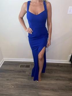 Windsor Blue Size 4 Side slit Dress on Queenly