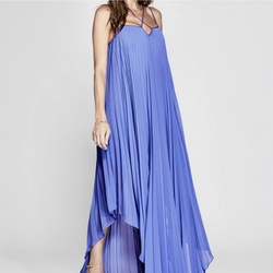 Guess by Marcianno Blue Size 8 A-line Dress on Queenly