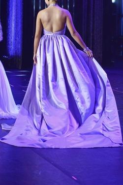Purple Size 0 Train Dress on Queenly