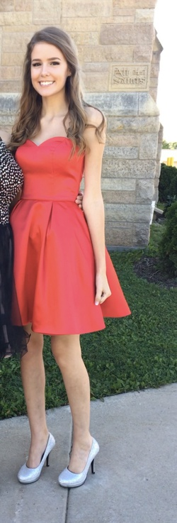 Sherri Hill Red Size 0 Pageant Cocktail Dress on Queenly