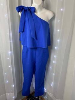 Blue Size 6 Jumpsuit Dress on Queenly