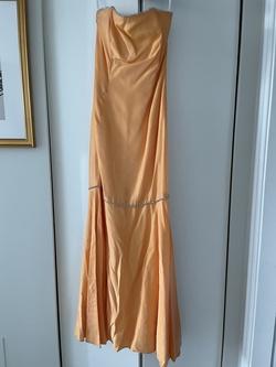 Jessica McClintock Orange Size 6 Mermaid Dress on Queenly