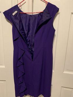 Calvin Kline Purple Size 10 Cocktail Dress on Queenly