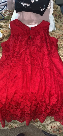 No Red Size 14 A-line Dress on Queenly