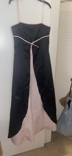 Milano Formals Black Size 14 Plus Size Straight Dress on Queenly