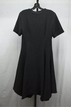 Belstaff Black Size 10 Belt Mini Tall Height Straight Dress on Queenly