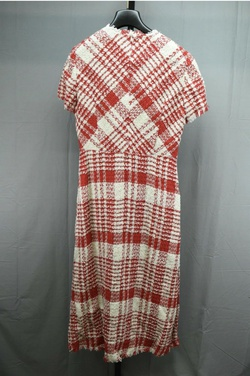 Escada Red Size 6 Mini Straight Dress on Queenly