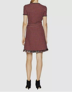Boutique Moschino Red Size 10 Straight Dress on Queenly