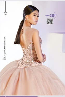 Ragazza Pink Size 6 Quinceanera Ball gown on Queenly